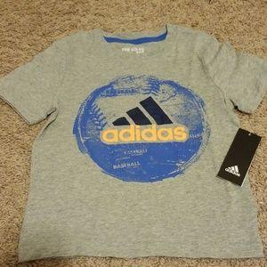 NWT Boys Adidas tshirt
